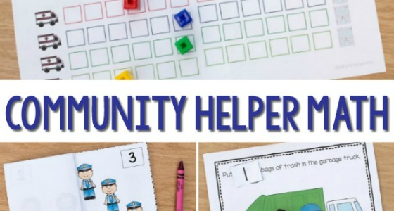 Community Helpers Preschool Math