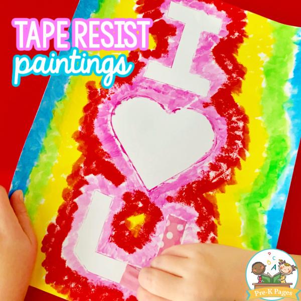 Easy Art for Preschoolers