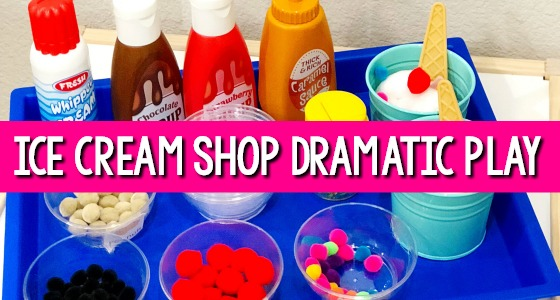 Ice Cream Shop Dramatic Play slider