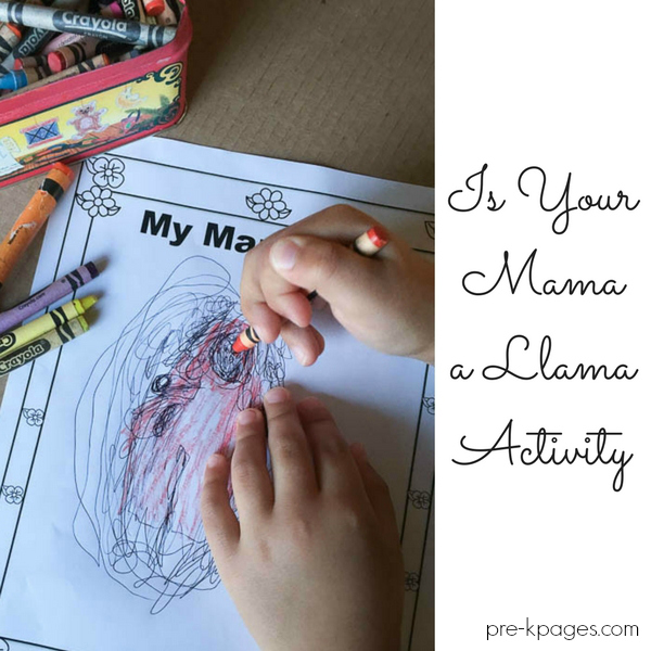 writing book activity mama pre-k
