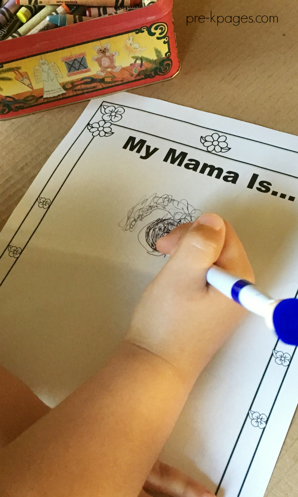 Is Your Mama a Llama drawing