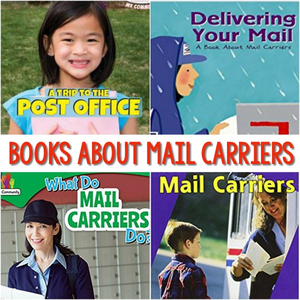 Mail Carrier Books for Preschool