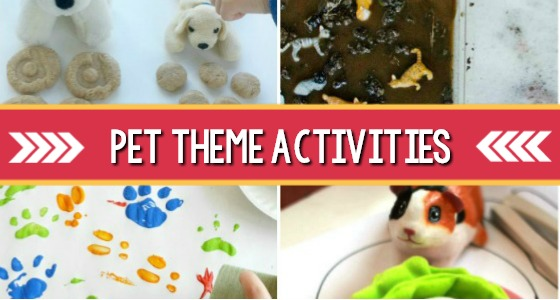 Pet Theme Activities for Preschool
