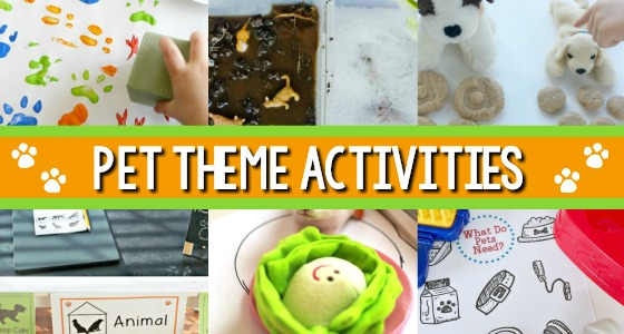 Pets Theme Activities for Preschool