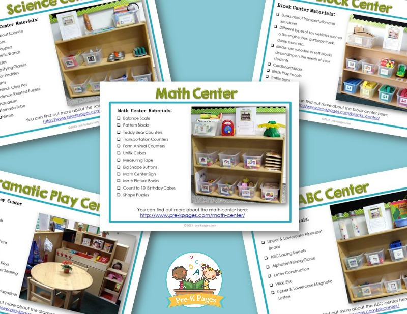 Printable Preschool Curriculum Guide for Classroom Instruction