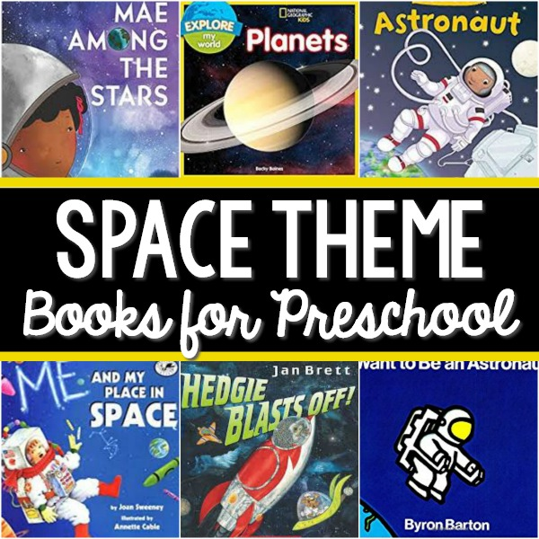 Space Theme Books for Preschool