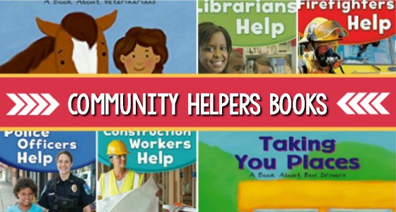 60+ Community Helper Books for Preschool