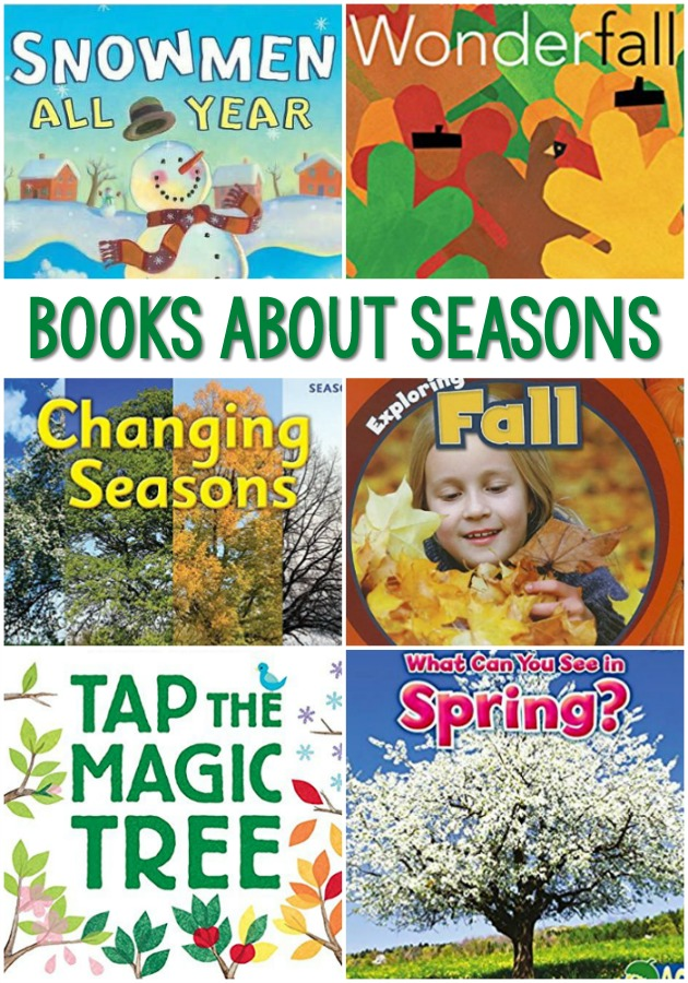 Books About Seasons for Preschool