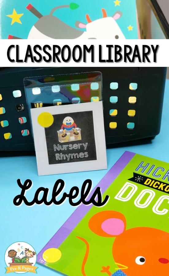Classroom Library Organization System for Preschool