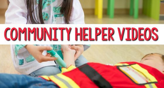 Community Helper Videos for Preschool
