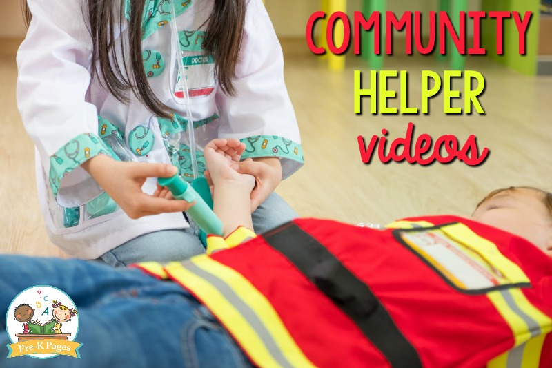 Community Helper Videos for Preschoolers