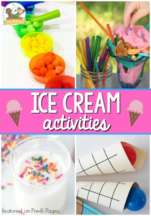 Ice Cream Theme Activities for Preschool