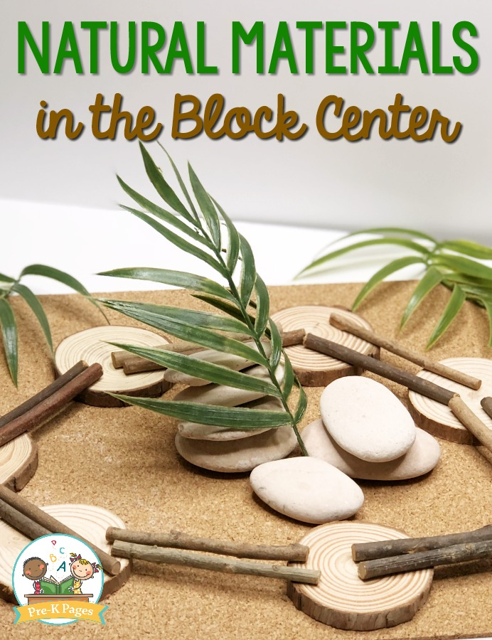 Natural Materials in the Block Center
