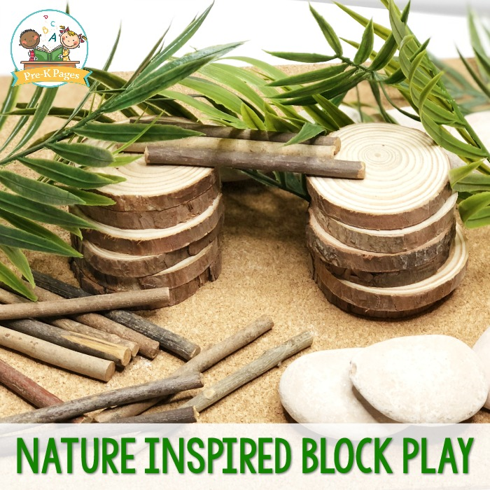 Nature Inspired Block Play in Preschool