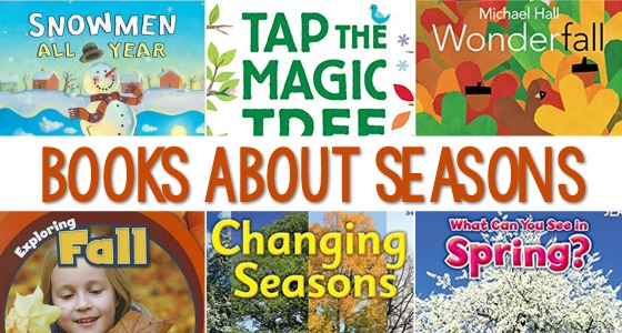 Season Books for Preschool Kids