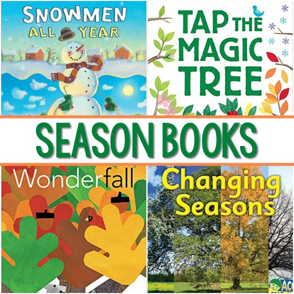 Season Books for Preschoolers