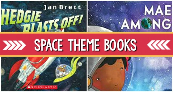 Space Books for Preschool Kids
