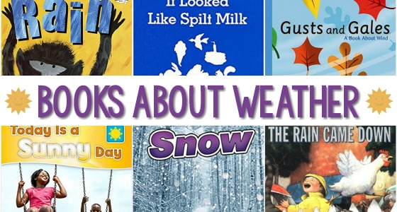 Weather Books for Preschoolers