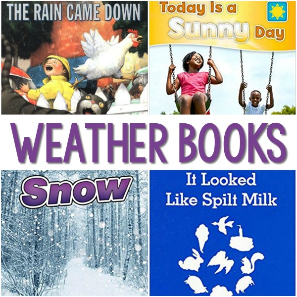 Weather Books for Preschool