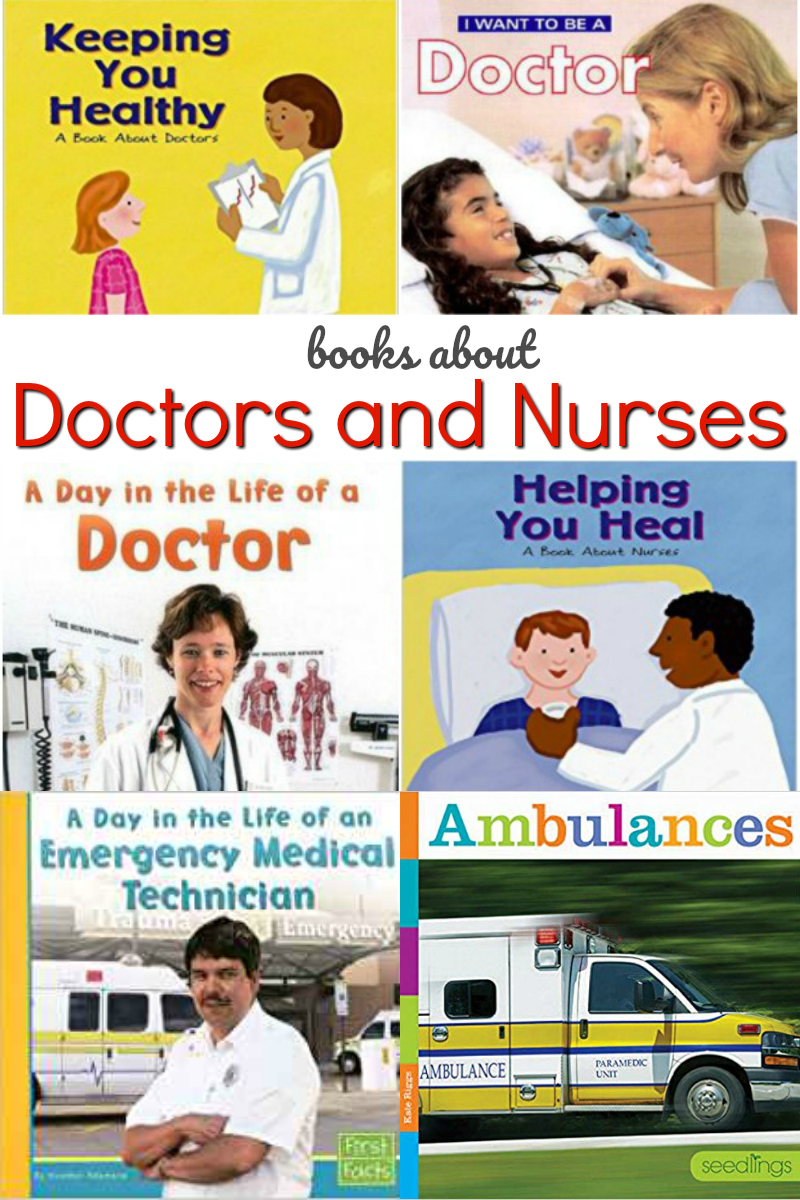 books about doctors and nurses for preschool