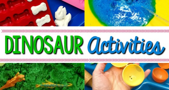 Dinosaur Theme Activities for Preschoolers