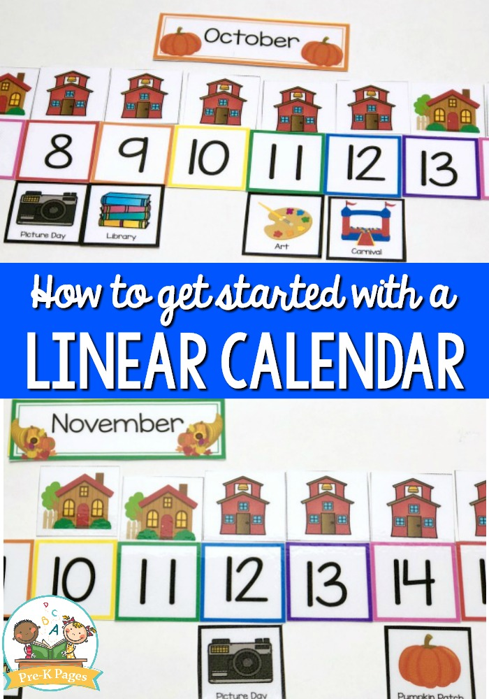 How to Use a Linear Calendar