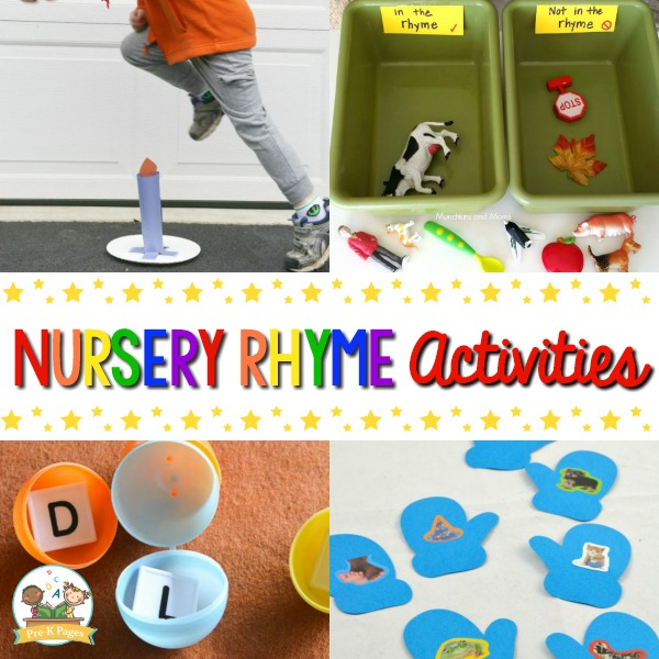 Nursery Rhyme Activities For Preschoolers