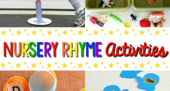 Nursery Rhymes Activities for Preschoolers