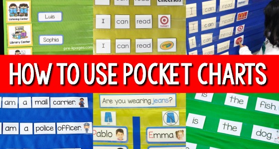 Pocket Charts in Preschool