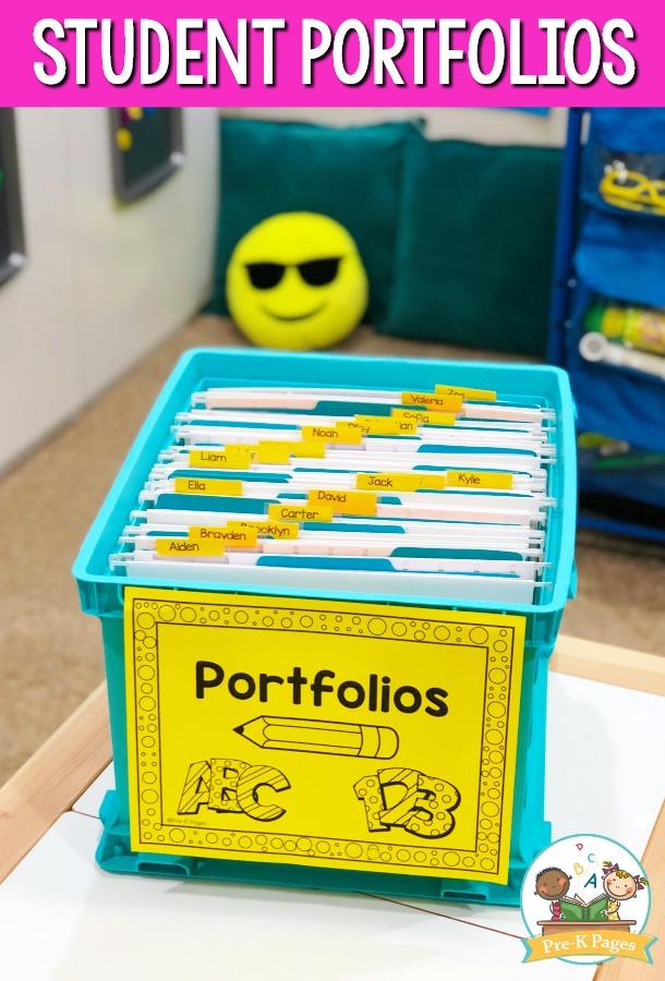 Portfolio Crate Organization