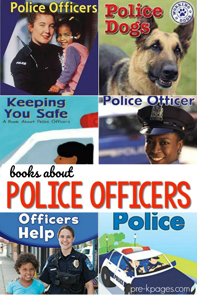 preschool books about police officers
