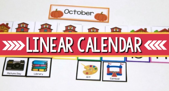 Linear Calendar Ideas