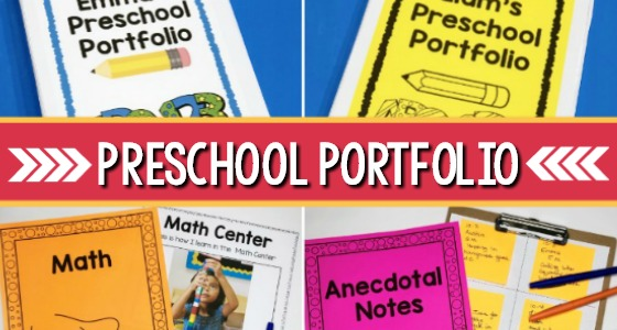 Preschool Portfolio Ideas