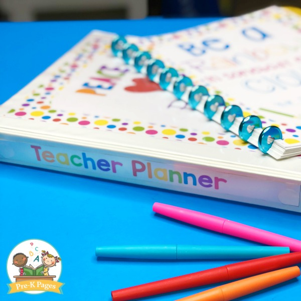 Best Teacher Planner for Kindergarten