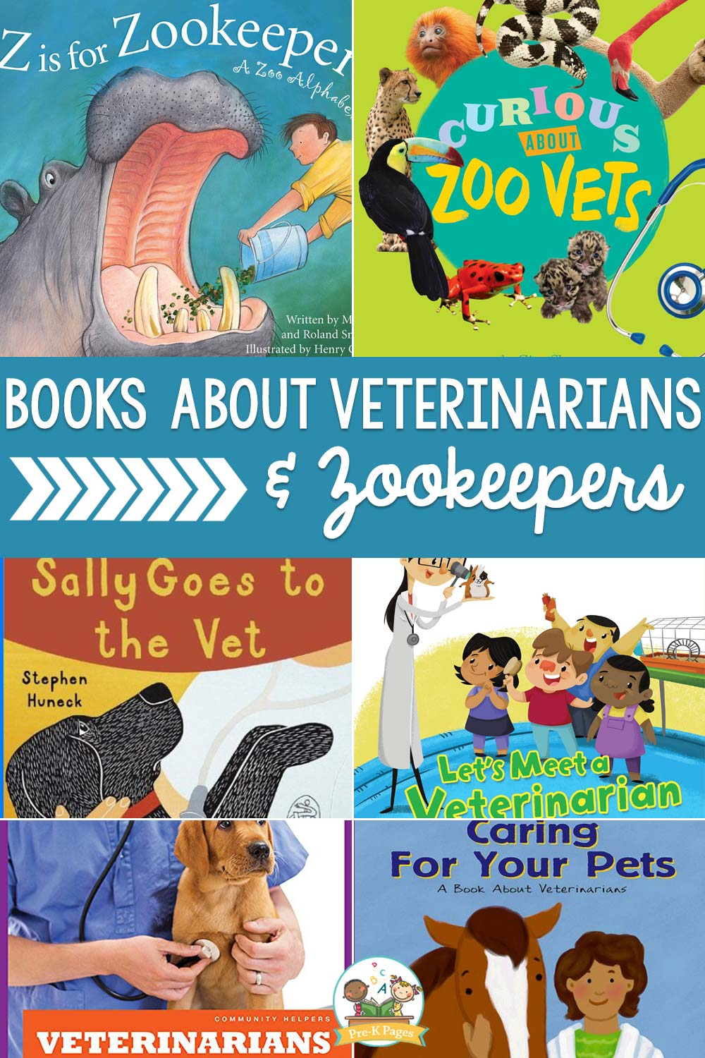books about veterinarians and preschoolers