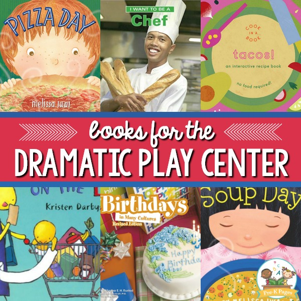 Books for Dramatic Play Center