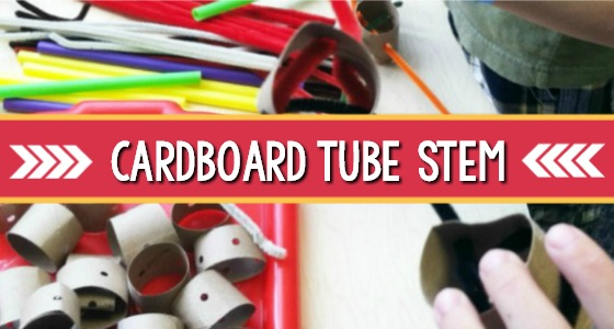 STEM Exploration with Cardboard Tubes