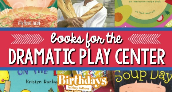 Dramatic Play Center Books for Preschool