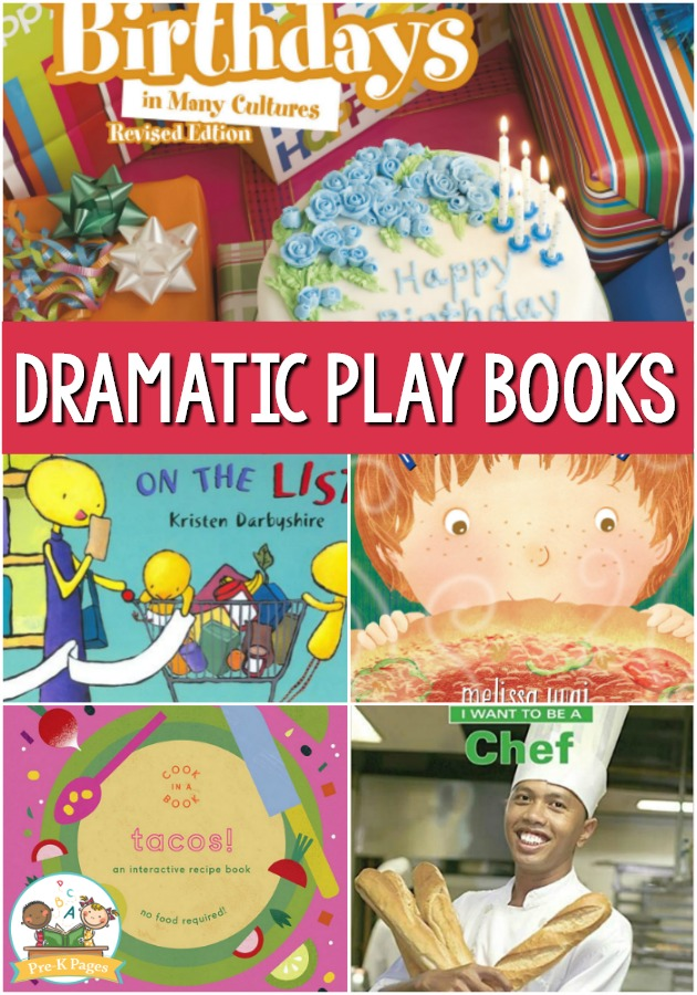 Dramatic Play Center Books