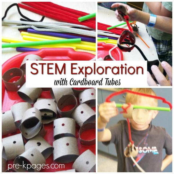STEM exploration pre-k