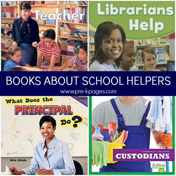 books about school community helpers pre-k