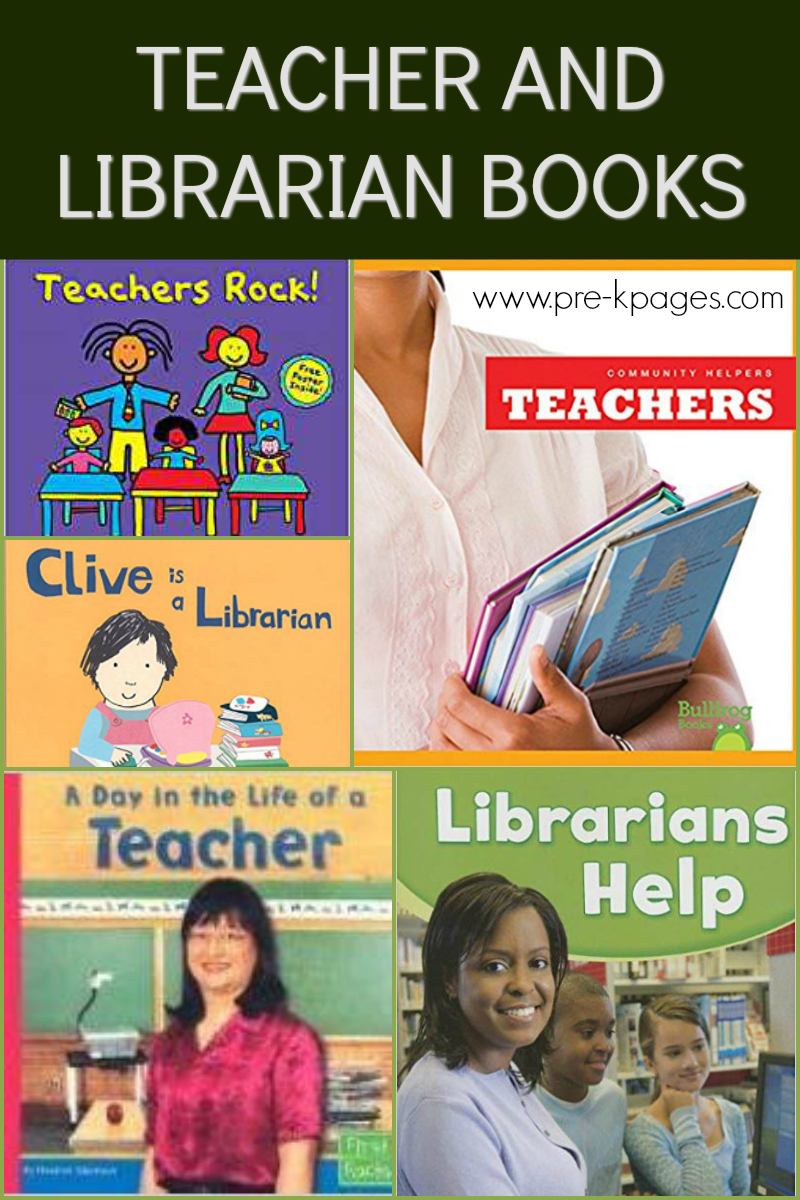 books about teachers for preschool