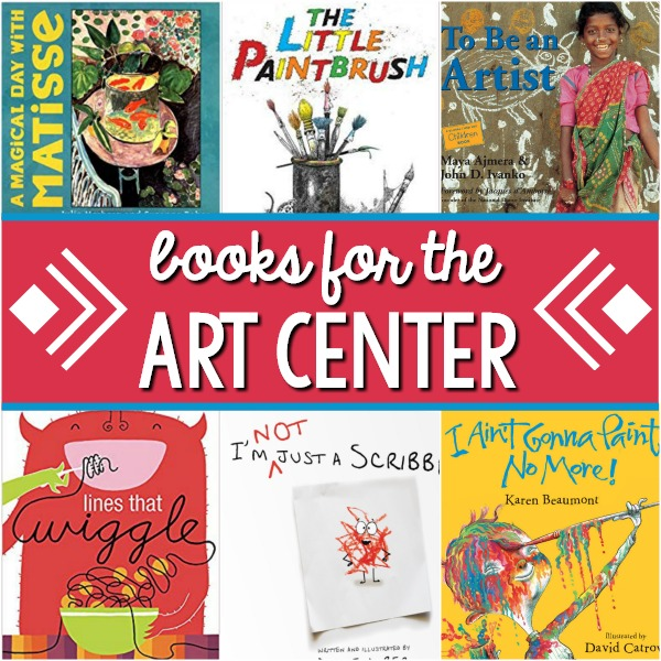 Art Center Books for Preschool