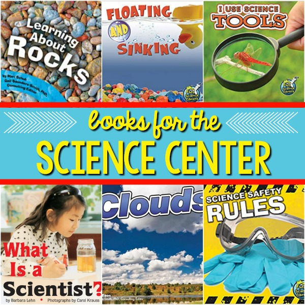 Books for the Science Center in Preschool