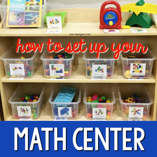 How to Set Up a Math Center