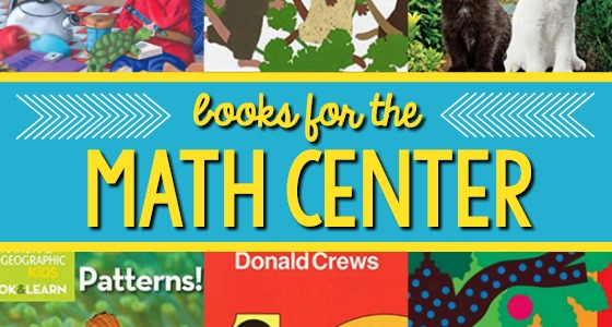 Math Center Book List for Preschool