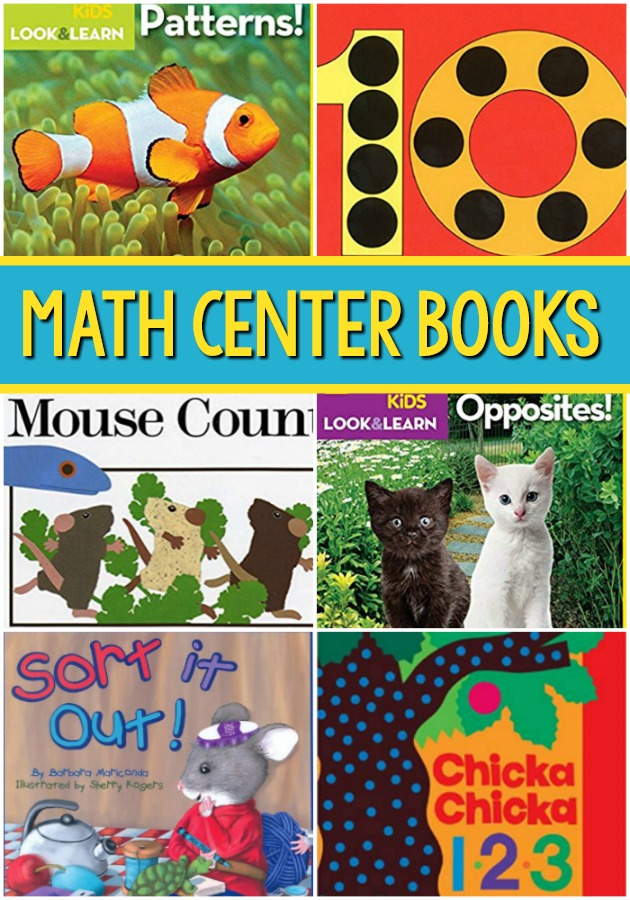 Math Center Books for Preschool