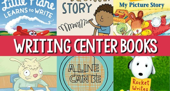 Preschool Books for the Writing Center