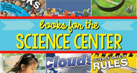 Preschool Science Center Books