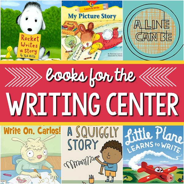 Writing Center Books for Preschool